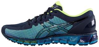 sale retailer 63a67 6774a Asics Men Gel-Quantum 360 2 Navy Blue and White Running ...