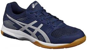 Asics Men Badminton/Squash Shoes ( Blue )
