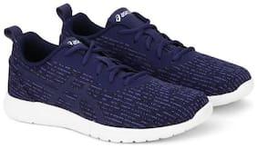 Asics Unisex Kanmei 2 Running Shoes ( Navy Blue )