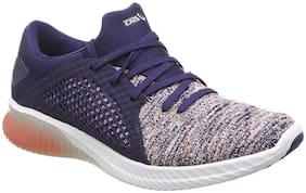 Asics Women Kenun Knit Running Shoes ( Navy Blue )
