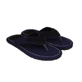ASTC Men Blue Flip-Flops - 1 Pair