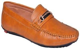 Aterna Men Tan Loafers - M 3 TAN-10