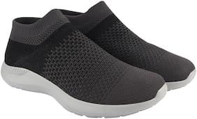 Action Men Athleo Running Shoes ( Black & Grey )