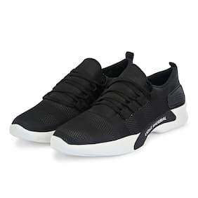 BAADRI Men BDR1113B Running Shoes ( Black )
