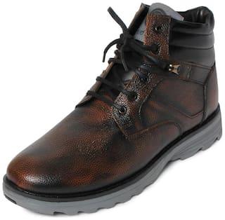 Bacca Bucci Men's Brown Outdoor Boots