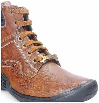 Bacca Bucci Men's Brown Ankle Boots