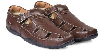 Bacca Bucci Men Brown Sandals & Floaters