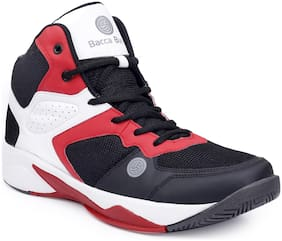 WAGER Basketball Shoes For Men ( Red )