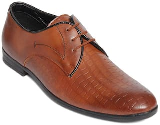 Bacca Bucci Men Tan Formal Shoes