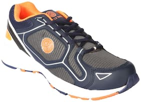 Bacca Bucci Blue And Orange Sports Shoes