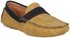 Bachini Men Yellow Loafer
