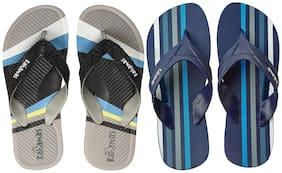 Bahamas Men Multi Flip-Flops - 2 Pair