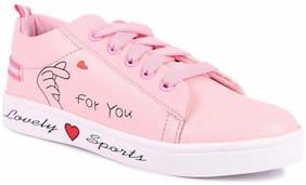 Banjoy SHOES Women Pink Sneakers
