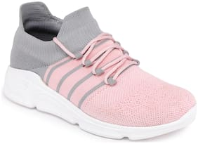 SPORTS SHOES Walking Shoes For Women ( Pink )