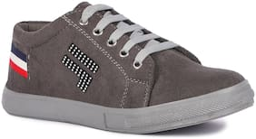 Banjoy SHOES Women Grey Sneakers