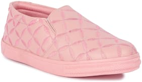 Banjoy SHOES Women Pink Sneakers