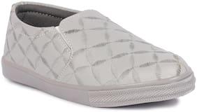 Banjoy SHOES Women Grey Sneakers