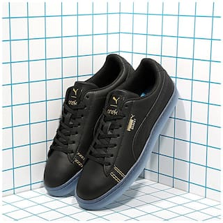 info for d0c43 0438a Buy Puma Men Black Sneakers - 36820202 Online at Low Prices ...