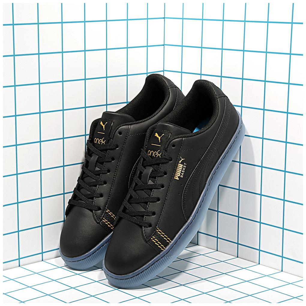 Buy Puma Basket Classic one8 Men Black Sneakers Online at ...