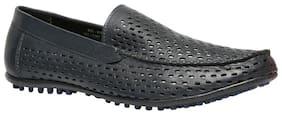 Men Blue Loafers