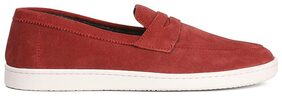 Bata Men Red Casual Shoes