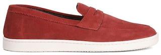 Bata Men Red Casual Shoes -