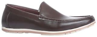 Bata Men Brown Loafers