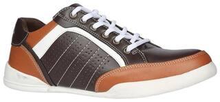 Bata Men Brown Sneakers