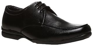 Bata Men Black Derby Formal Shoes - Q 3 - 8216671