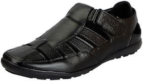 Men Shoe-Style Sandals ( Black )