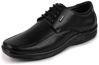 Bata Men's Black Synthetic Formal Lace-up Shoes