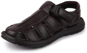 Men Sandals ( Brown )