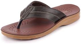 Bata Men's Casual Brown Slipper