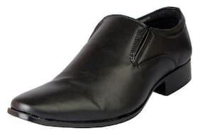 Bata Men Black Formal Shoes - 851-6818