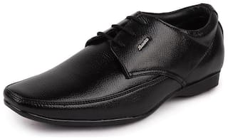 Bata Men Black Derby Formal Shoes - 821-6920 - 821-6920