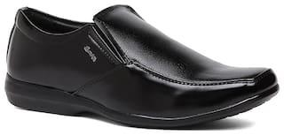 Bata Men Black Slip-On Formal Shoes - 8516813
