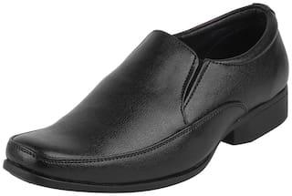 Bata Men Black Slip-On Formal Shoes - 851-6564