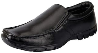 Bata Men Black Slip-On Formal Shoes - 851-6883