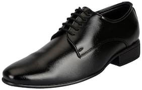 Men Black Derby Formal Shoes ,Pack Of 1 Pair