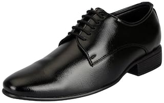 Bata Men Black Derby Formal Shoes - 821-6116