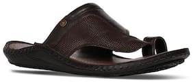 Bata Mens Brown Slippers & Flip-Flops