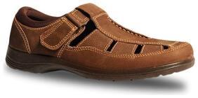 Bata Mens Brown Sandals & Floaters