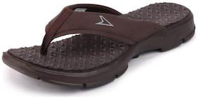 Men Outdoor Slippers ( Brown )