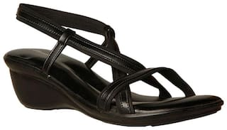 44ff85b43 Buy Bata Women Black Sandals Online at Low Prices in India ...