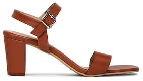 Bata Women Brown Sandals