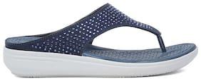 Bata Women Blue Sandals