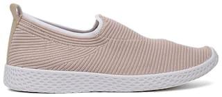 Bata Women Brown Slip-On Shoes