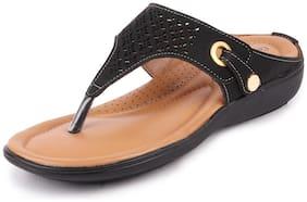 Bata Women Black Sandals