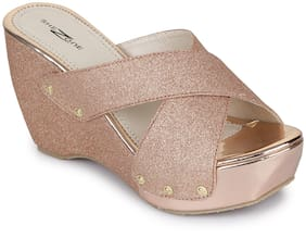 Shezone Women Copper Wedges -