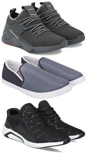 BERSACHE Men Multi-Color Casual Shoes - COMBO(MR)-1657-1094-1242